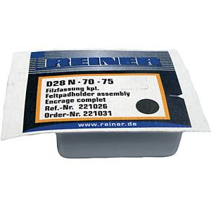 Reiner D28 leimasintyyny metallileimasimeen