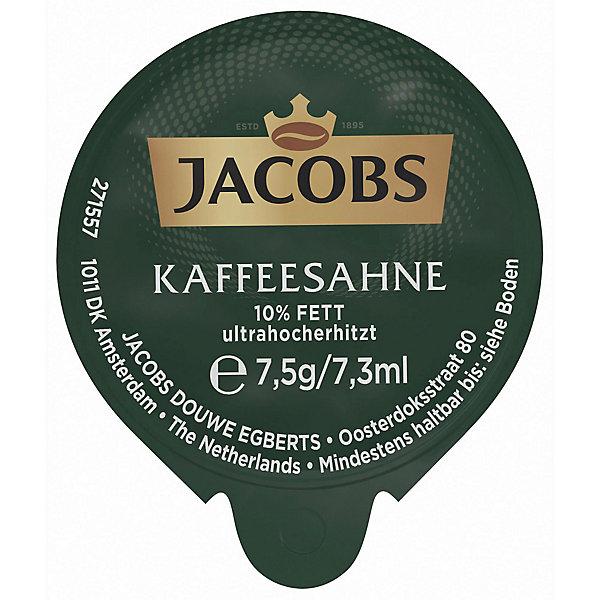 Kaffeesahne Jacobs, 10% Fettgehalt, Portion a 7,5g, 240 Stück