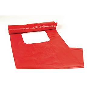 PK20 WASTE BAG 2-PLY 30L RED