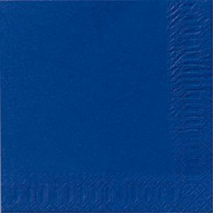 Servett Duni, 1-lagers, 33x33 cm, blå, förp. med 500st.
