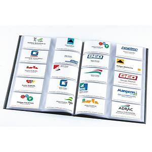 Elba business card folder A4 for 400 cards