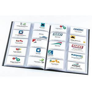 Elba business card folder A4 for 400 cards