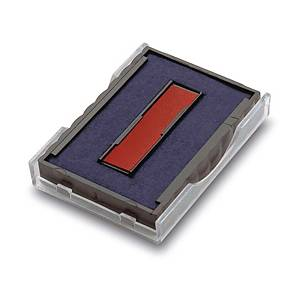 Trodat 4750 Stamp Pad for Dater Stamp Blue & Red