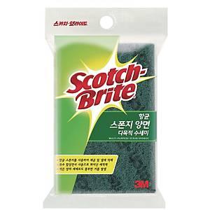 SCOTCHBRITE SL135 SCRUB/SPONGE 90 X 150 X 30