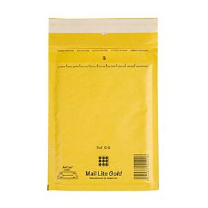 Luftpolster-Versandtaschen Sealed Air Mail Lite C/0,150x210mm, Pack à 10 Stk.
