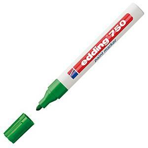 Edding 750 Bullet Tip Green Paint Marker
