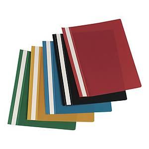 IMPEGA HARD FILE PVC BLACK