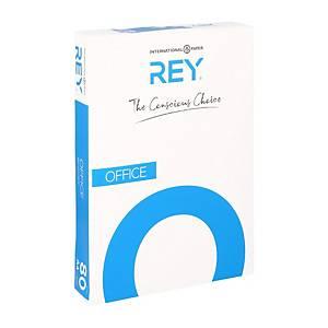 Papier A4 blanc Rey Office Document FSC, 80 g, la boîte de 500 feuilles