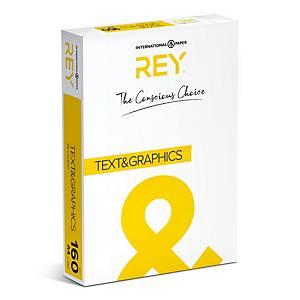 Papier A4 blanc Rey Text & Graphics, 160 g, les 250 feuilles