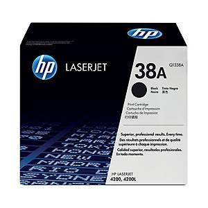 HP Q1338A ORIGINAL LASER TONER CARTRIDGE - BLACK