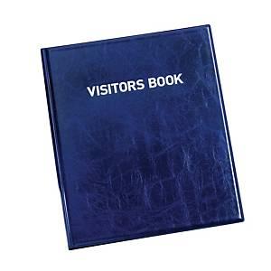 Durable 1463 Visitors Book met 100 badges, Engelstalige bedrukking
