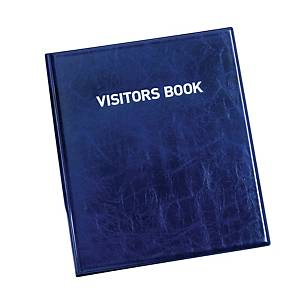 Registre visiteurs Durable 1463, 100 porte-cartes, impression en anglais
