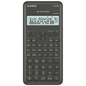 Taschenrechner Casio FX-82MS, 10 / +2stellig, Batteriebetrieb, grau