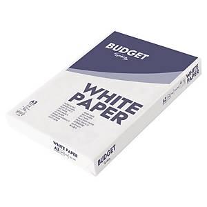 Papir til sort/hvit-utskrift Lyreco Budget A3 80 g, eske à 3 x 500 ark