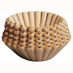 Kaffefilter Duni Brewmatic, 11 cm, ubleget, pakke a 250 stk.