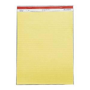 Executive Writing Pad Yellow A4