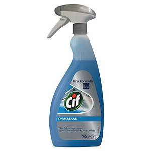 CIF GLASS CLEANER 750ML