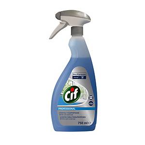 CIF PROFESSIONAL WINDOW & GLASS CLEANER 750ML