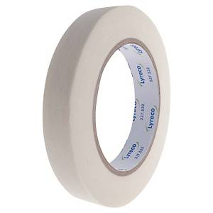 Nastro adesivo in carta semicrespata Lyreco L 50 m x H 19 mm