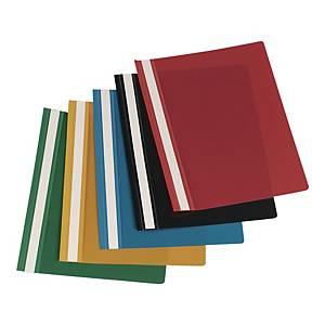 BIURFOL HARD FILE PVC RED