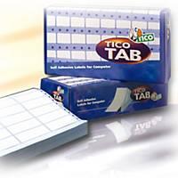 Etichette in modulo continuo Tico TAB1-1003 l 100 x h 36,2 mm - conf. 4.000