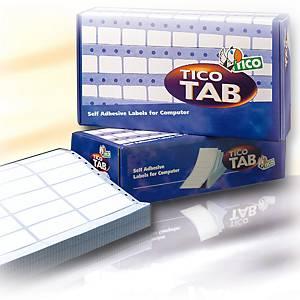 Etichette in modulo continuo Tico TAB1-0893 l 89 x h 36,2 mm - conf. 4.000
