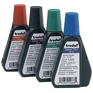 TRODAT 7011 STAMP INK RFL 28ML RED