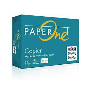 PaperOne A4 Copier Paper 75gsm - Ream of 500 Sheets