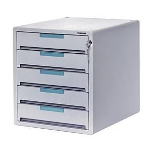 KAPAMAX K90115 5 CLOSED DRAWER UNIT GREY