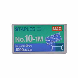 MAX No.10 (10-1M) Staples - Box of 1000