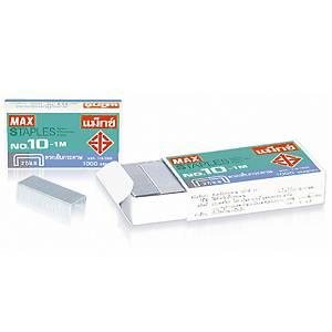 MAX ลวดเย็บกระดาษ 10-1M 1000 ลวด/กล่อง
