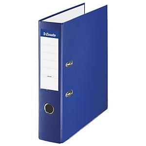 Archivador de palanca Esselte - folio - lomo 75 mm - azul