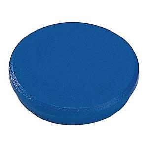 Magnet Dahle, rund, 32 mm, blå, pakke a 10 stk.