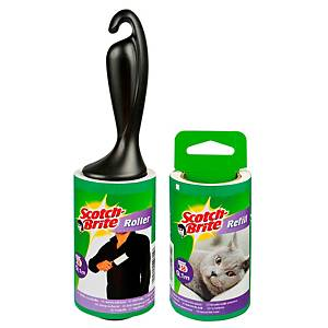 3M Scotch-Brite adhesive brush roller with 30 precut sheets