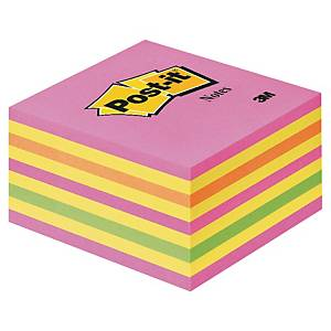 3M POST-IT NOTE CUBE NEON PINK 450 SHEETS