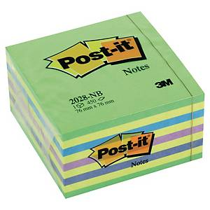 Post-It Note Cube 450 Sheets 76x76mm Neons