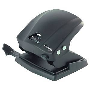 Lyreco 2 Hole Paper Punch Black - 30 Sheet Capacity