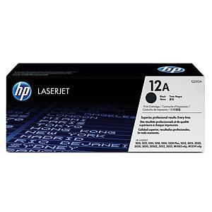 HP 12A Q2612A laservärikasetti musta
