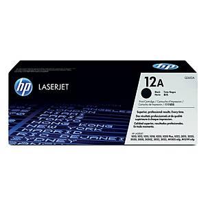 HP Q2612A LaserJet Toner Cartridge (12A) - Black