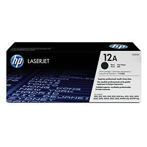 Tóner láser HP 12A - Q2612A - negro