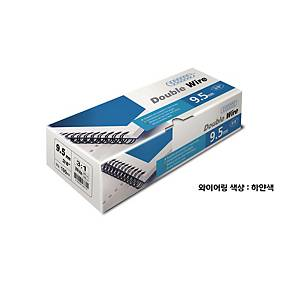 PK100 ACCO WIRES 9MM WHITE