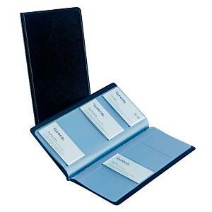 Elba business card folder for 96 cards black