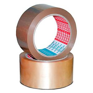 Tesa 4120 packaging tape 50mmx66m PVC brown