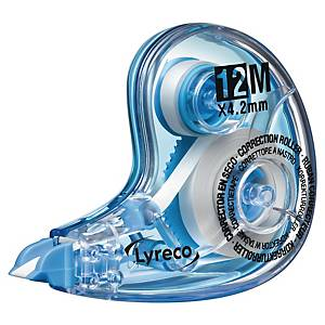 Korrekturroller Lyreco sofort überschreibbar Länge 12m Breite 4.2mm weiß