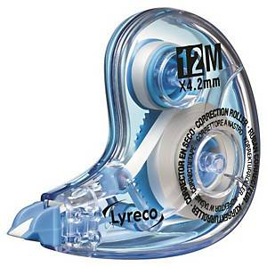 LYRECO NEW CORR TAPE 4.2MMX12M BLU