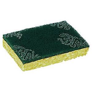 Scotch-Brite™ natuurlijke spons en schuurspons, pak van 10 stuks