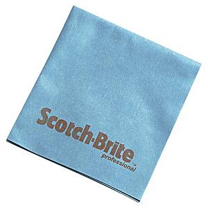 Pack de 10 panos absorventes microfibra Scotch Brite - 36 x40 cm - azul