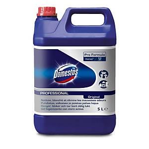 Detergente clorado higienizante para baños Domestos - 5 l