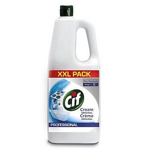 Crème à récurer liquide Cif Professional, la bouteille de 2 l