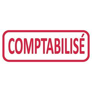 Tampon formule Trodat 4912 - comptabilisé - encrage automatique